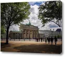 Картина Бранденбургские ворота
