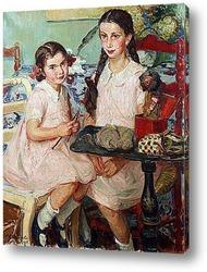 Картина Генриетта и Женевьева Ноуффлард