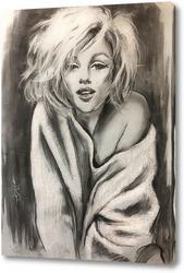 Картина Мэрилин в белом