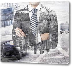 Картина Бизнес-карта