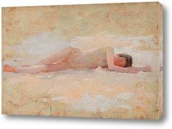 Спящая обнаженная, около 1890-1900