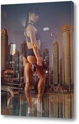 Тренировка в мегаполисе