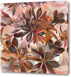 Картина Букет с лилиями