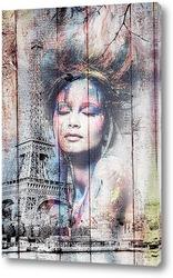 Картина Парижанка