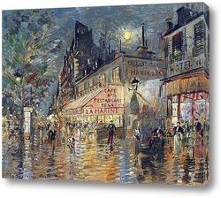 Картина Кафе Марина, Париж