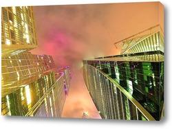 Молочный туман над Moscow-City