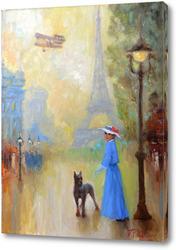 Картина Защитник. Парижские зарисовки.