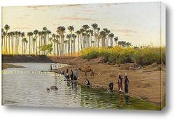 Картина Египетский пейзаж
