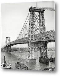 Картина Вильямсбург мост из Бруклина, 1904