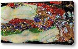 Картина Водяные змеи II, 1907
