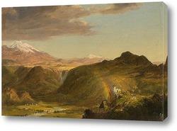 Картина Южноамериканский пейзаж
