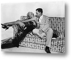 Картина Мерелин Монро и Том Эвел.