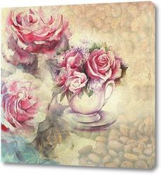 Сашка с розами