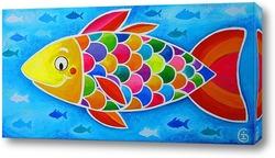 Счастливая рыбка