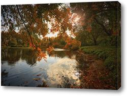 Картина Пылающая осень