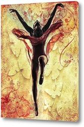 Картина Танцующая балерина