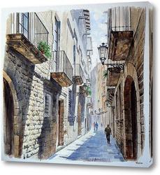 Картина Улочки Барселоны