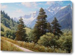 Картина Архыз, гора София