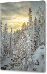 Картина Алтайский лес