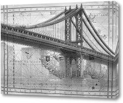 Картина Манхэттенский мост