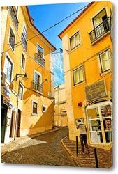 Картина Улочка Лиссабона