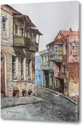 Картина Улочка в Старом Тбилиси