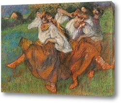 Картина Русские танцовщицы, 1899