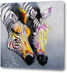 Цветные зебры