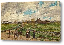 Картина В Провансе