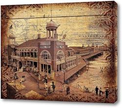 Картина Steel Pier, Атлантик-Сити (1910)