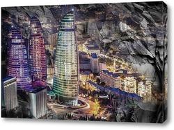 Картина Азербайджан, Баку