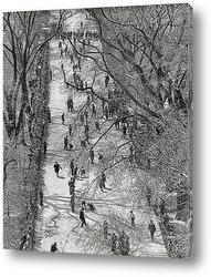 Картина Мраморный Конкурс на Бостон-Коммон, 1920