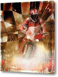 Картина Спорт.Мотогонки