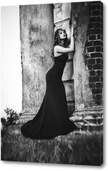 Портрет в платье