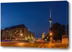 Картина Вечерний Берлин