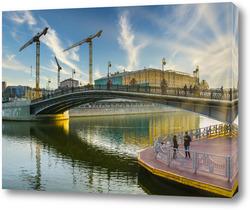 Картина Лужковский мост