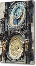 Картина Городские часы в Праге