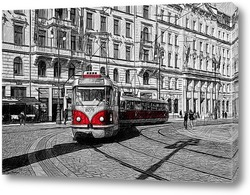 Картина Пражский трамвай