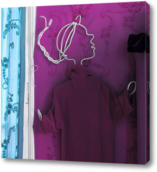 BOX - Пурпурная мечта вешалка / A stand for violet dreams