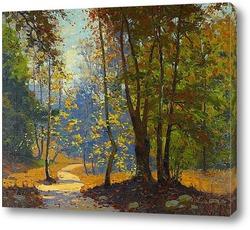 Картина Путь леса, 1937