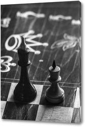 Картина Игра в шахматы