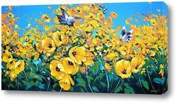 Картина Две бабочки