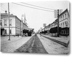 Картина Общий вид Миллионной улицы 1903 ,