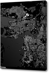 Картина Карта Казани