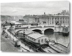 Картина Фонтанка. Аничков мост 1908  –  1914