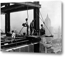Картина Высотники, Нью-Йорк, 1931