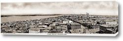 Картина Общий вид с Вознесенского собора 1889  –  1894 ,  Россия,  Самарская область,  Самара