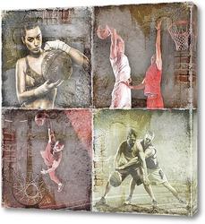 Картина Баскетбольные игроки