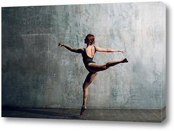 Картина Балерина в черном 2