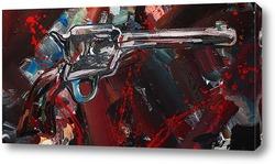 Картина Револьвер